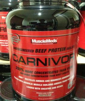 Supplement Fitness (Suplemen Fitness) Carnivor Beef MuscleMeds 4lbs BANDUNG