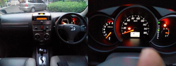 jual toyota rush type G automatic hitam 2012