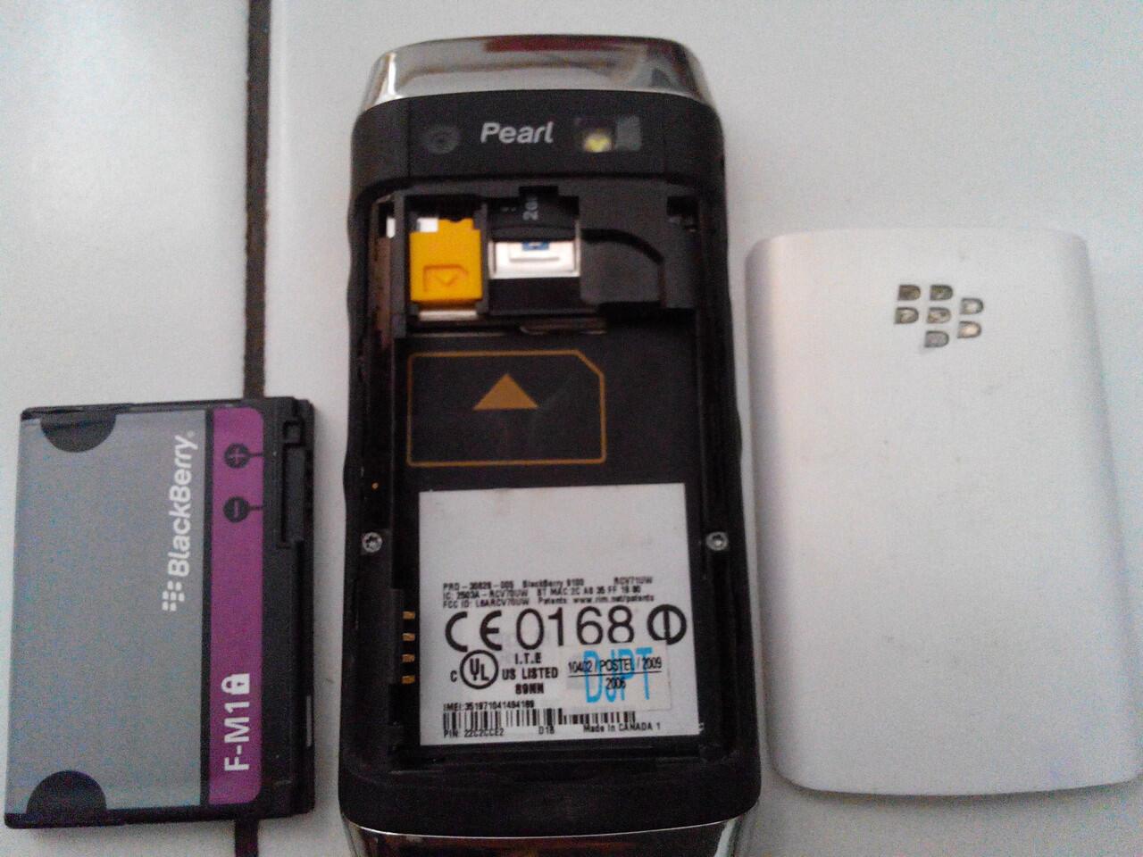 Blackberry 9100 / Pearl 3G white !