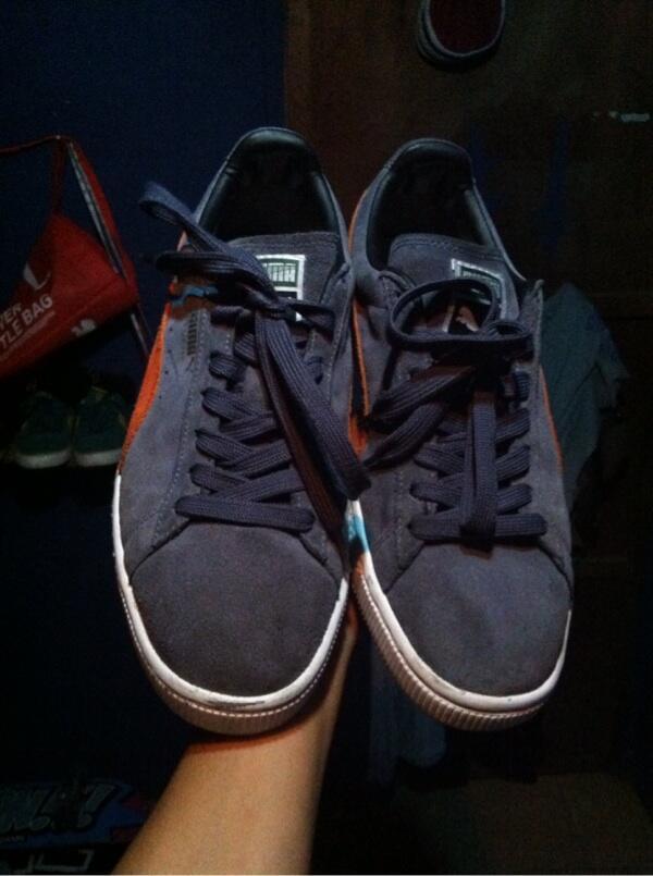 Terjual Sepatu shoes skate puma suede jogja yogya  68539a08ac