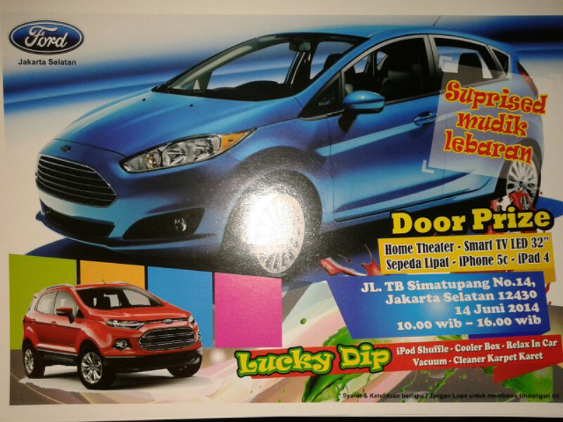 FORD-(JAKSEL)THE BEST PROMO KHUSUS FORD FIESTA
