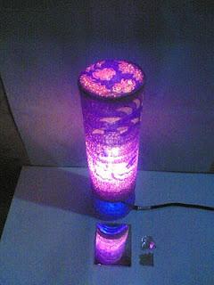 Kerajinan Tangan Lampu Hias Kamar Dari Botol Plastik Bekas Membuat ... 1414e29506
