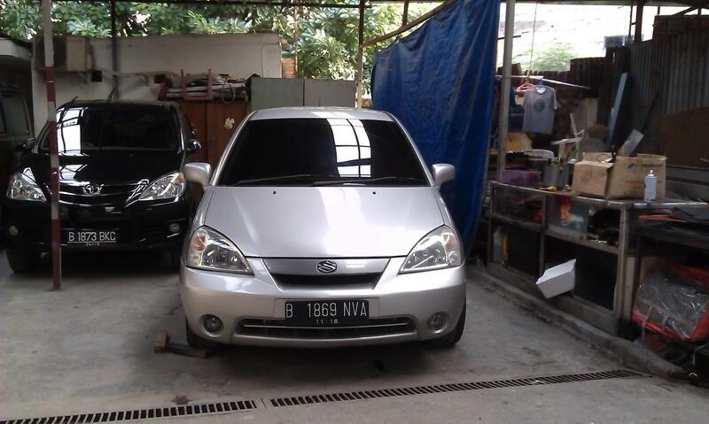 Suzuki Aerio DX A/T 2003 Silver Metalik DP RINGAN