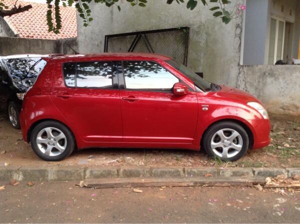Suzuki Swift Gl (cbu) 2007, Merah, AT