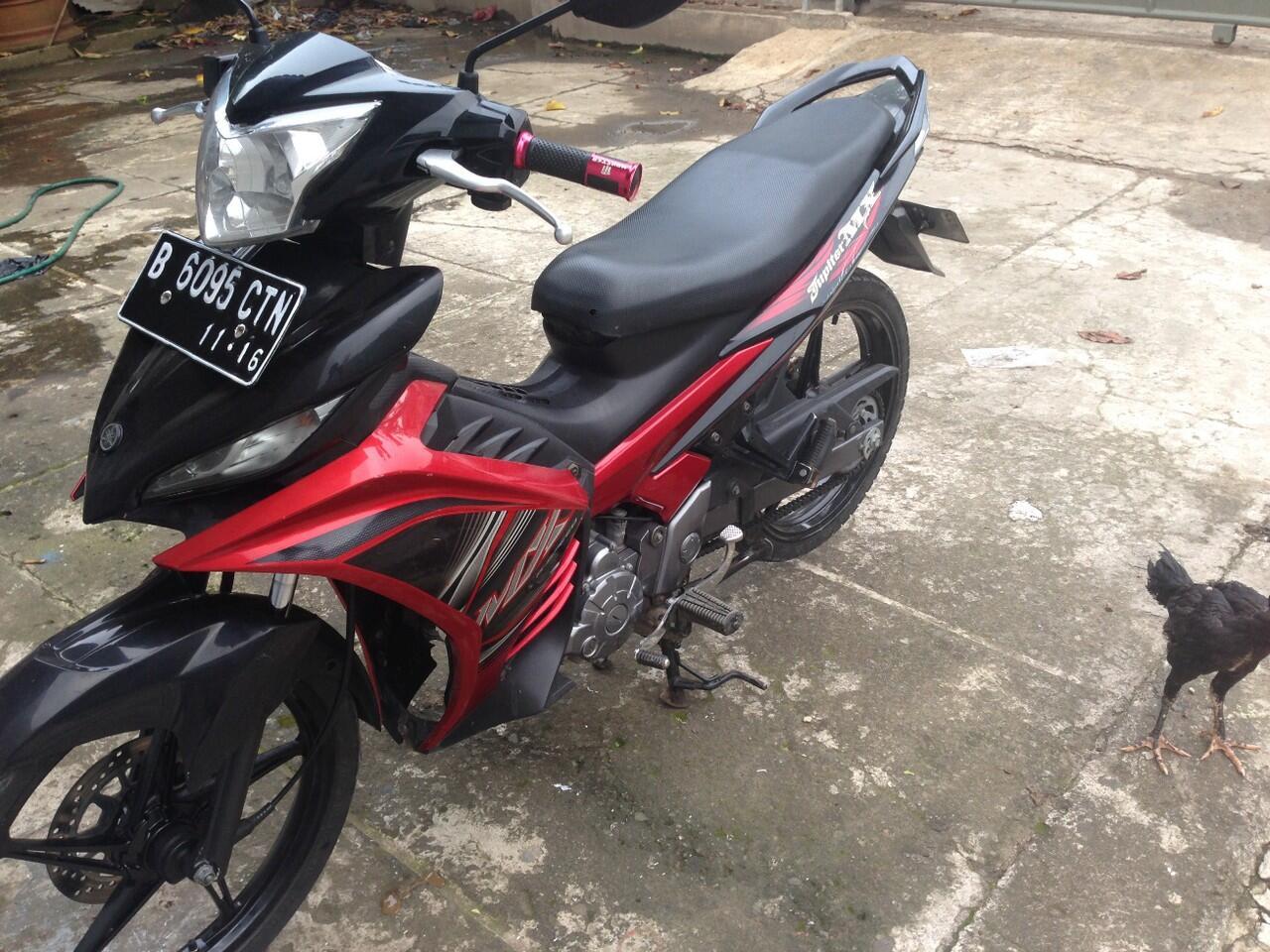 Yamaha New Jupiter Mx 2012 Merah Mulus Murah