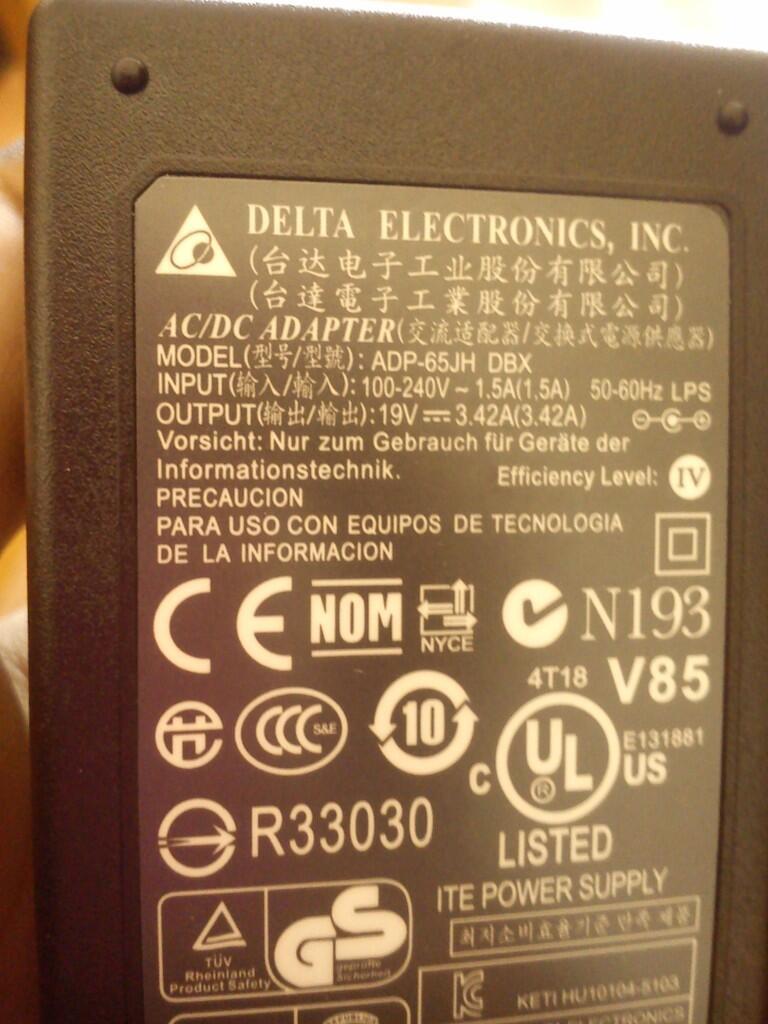 Jual aneka ragam adaptor charger Laptop , Notebook, Netbook Original bergaransi