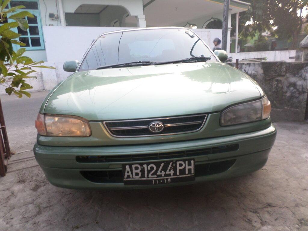 Toyota Corolla 1.6 SEG 1997 Plat AB