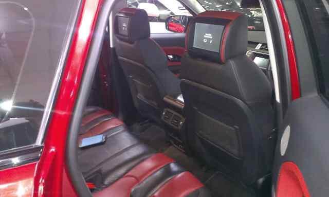 Range rover evoque dynamic 2012 Merah Metalik