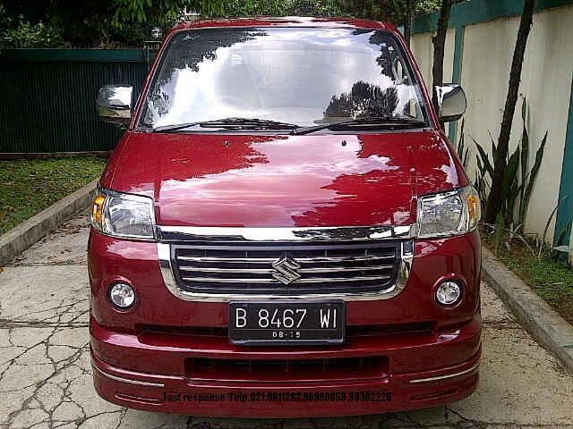 Suzuki APV X Manual Merah Metalik Th.2005