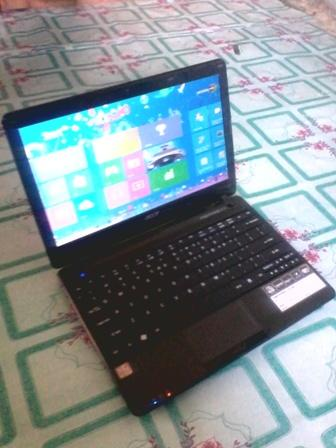 JUAL BU,,Netbook Acer aspire one 722 fullset cod bandung
