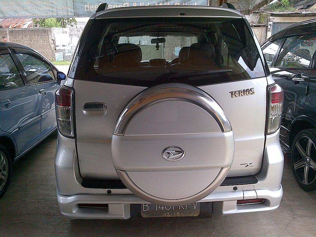 Daihatsu Terios TX adventure 2010 manual (tipe tertinggi) mantab