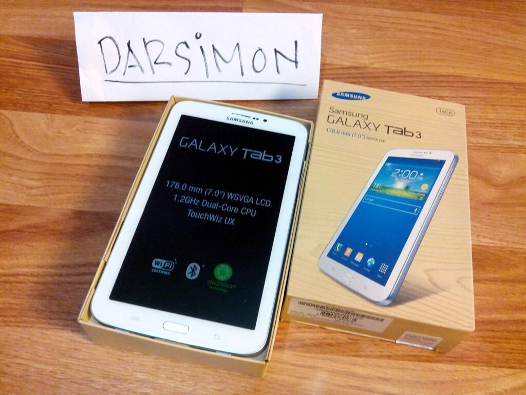 """Samsung Galaxy Tab 3 7"""" belum 1bulan (Cirebon)"""