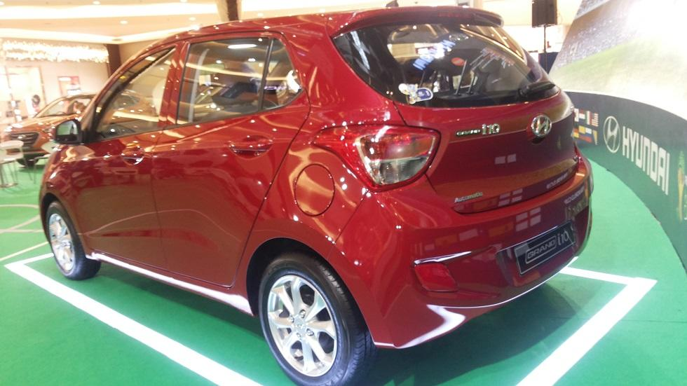 Indent Now!! The Playmaker Grand i10 Engine Kappa 1.25 MPI, DOHC 16 Valve, Dual CVVT.