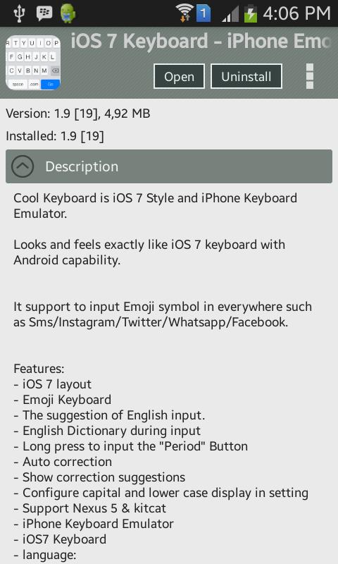 Cara mengubah tampilan Android menjadi iOS 7 sepenuhnya (No