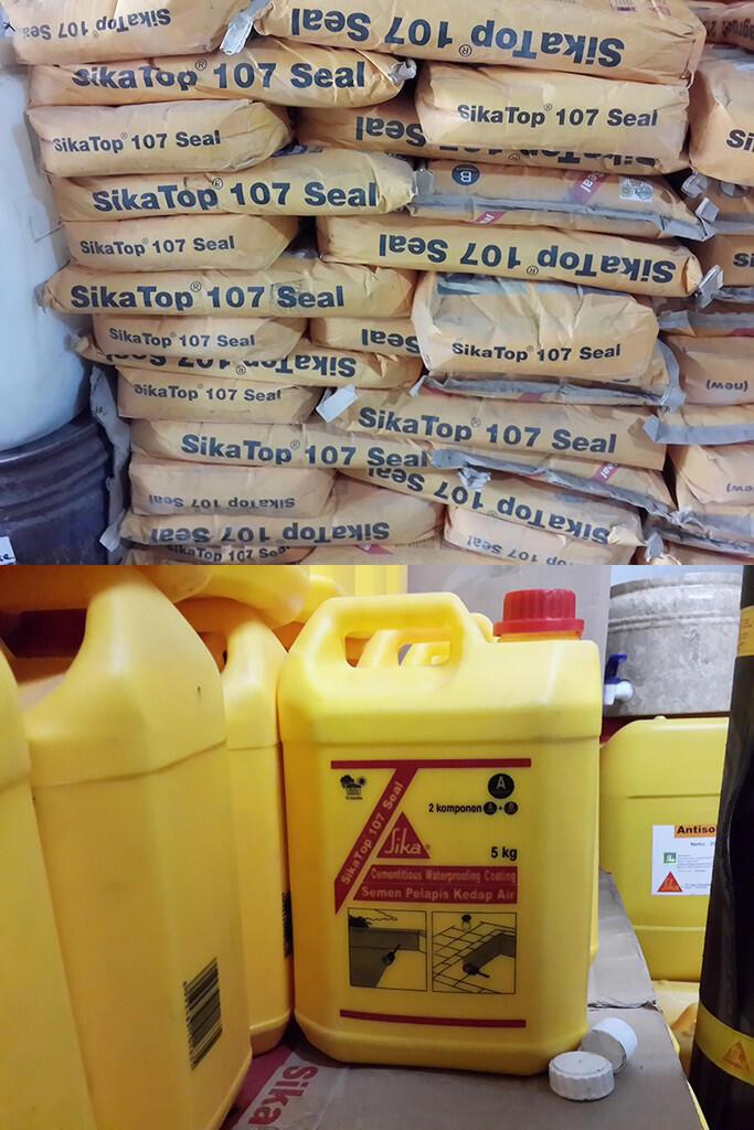 Terjual kimia47 jual berbagai produk sika kaskus - Sikatop seal 107 ...