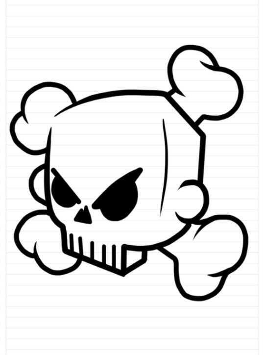 600 Gambar Kartun Keren Yang Mudah Ditiru HD