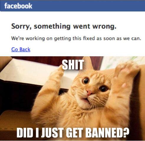 Reaksi-reaksi lucu setelah Facebook down beberapa menit