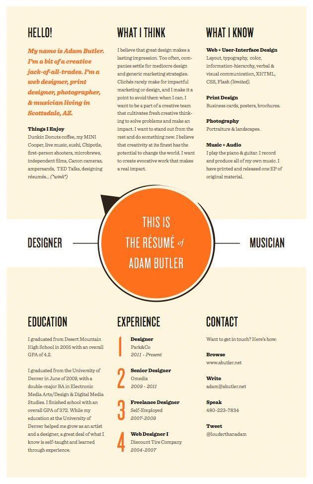 Ini Dia, Desain-Desain CV Keren Yang Bisa Kamu Sontek!