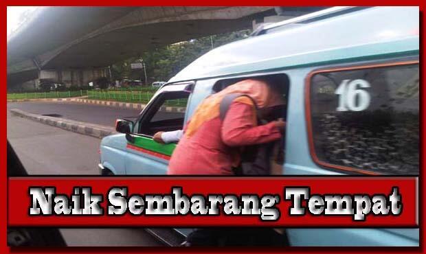 Kebiasaan Buruk Orang Indonesia Saat Menggunakan Transportasi Umun