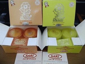 Jual paket cream sari bpom kemasan baru SARI SKIN CARE