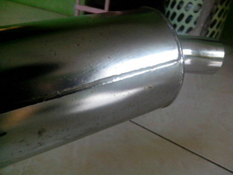 Knalpot Standart Kawasaki Ninja RR 150