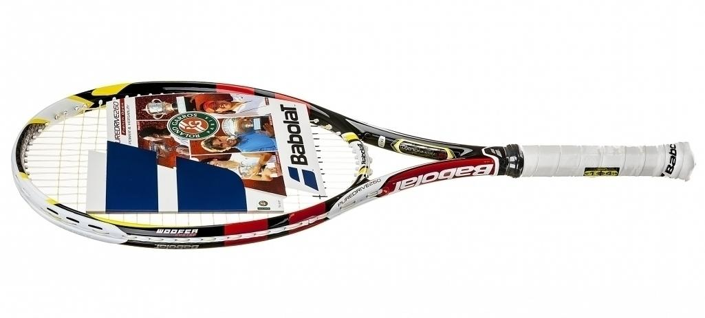 RaKeT Tenis BaboLaT PURE DrivE 260 gRaMs LimiTeD FRENCH oPeN cLaY 100% OriginaL 2014