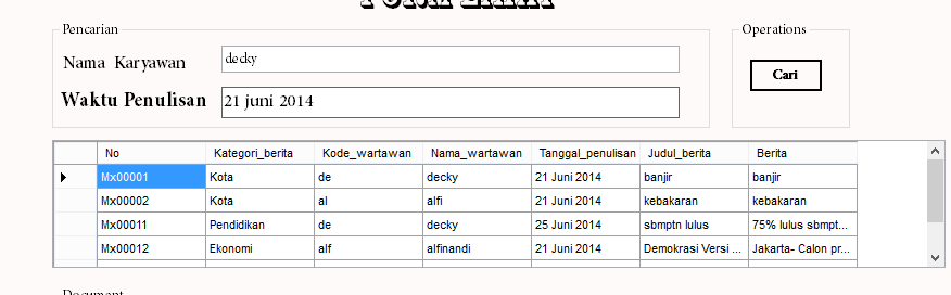Newbie Tanya Sintaks SQL