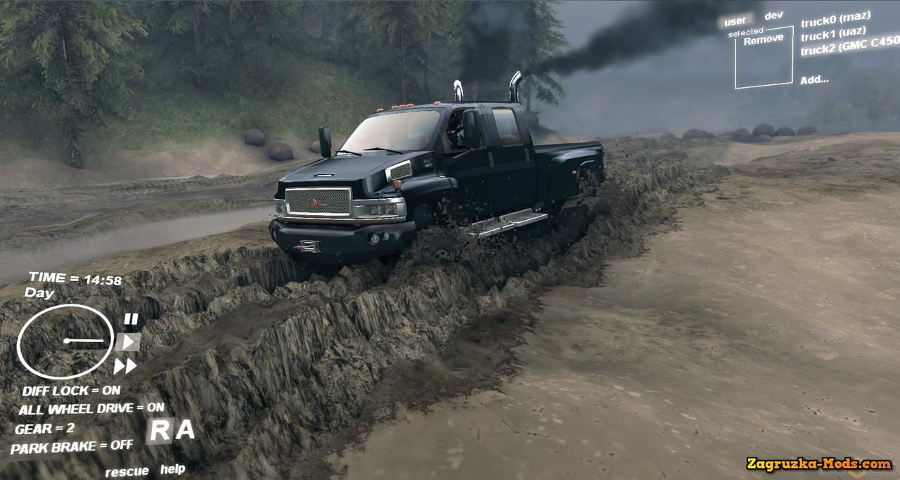 SPINTIRES - The Real Off Road Simulator