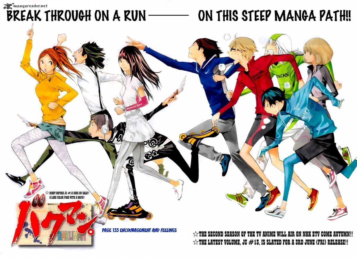 Desain Karakter Manga Bakuman