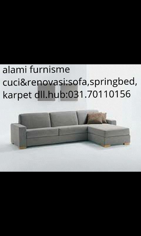 Cuci&Renovasi sofa,springbed,karpet dll