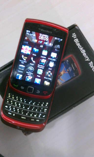 Blackberry Torch 9800 Murah Asli Mantaf Pakean Sendiri