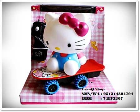 RC Mack The Truck, Hello Kitty, Angry Bird, dll