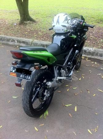 Jual Cepat Over Kredit Ninja 150RR New