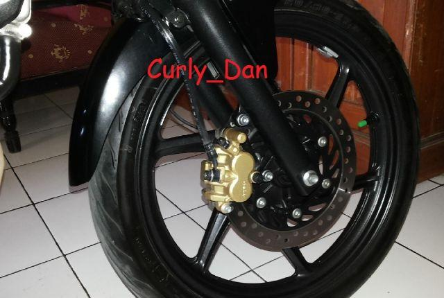 Honda CB 150 R Hitam Mulus (Plat S Mojokerto)