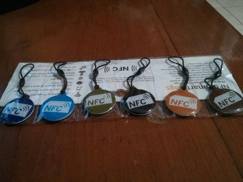 NFC Tags Tag for NFC Enabled Android Phones (Galaxy Nexus, Galaxy SIII, One X, etc)