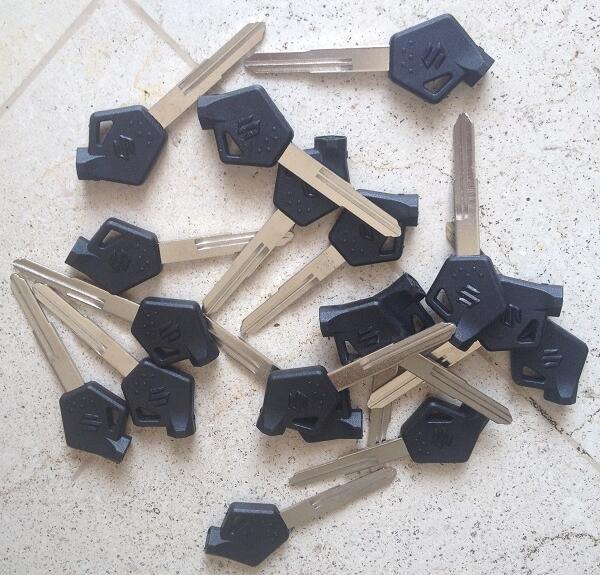 Bahan Duplikat Kunci Suzuki Shogun