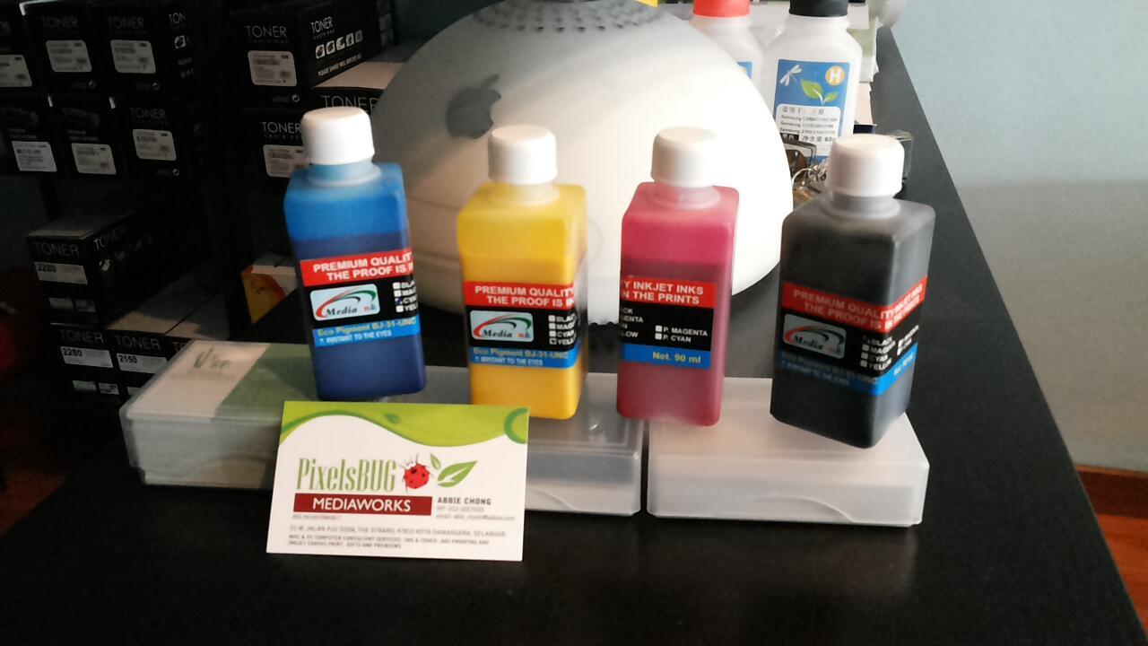 Terjual Epson L120 Upgrade Tinta Bj 031 Eco Solvent Pigment Kaskus