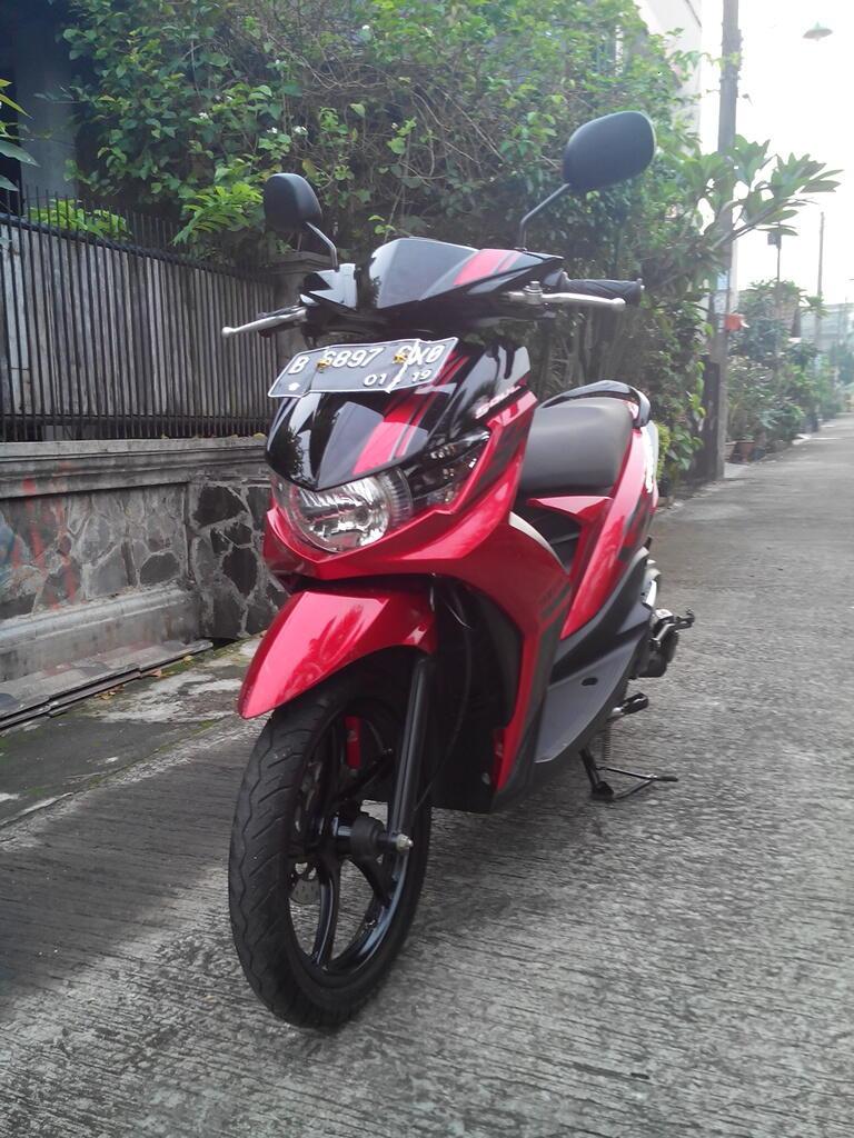 Yamaha Mio Soul Gt.th.2014 Warna Merah Mulus