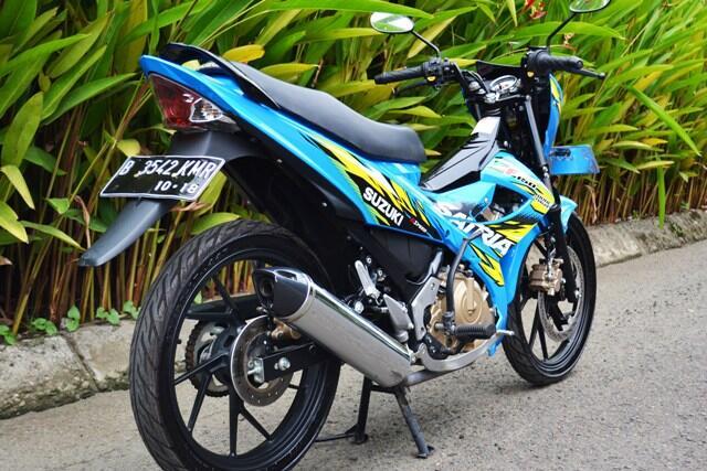 Dijual Suzuki Satria FU 150cc thn 2013