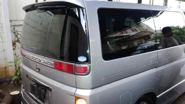 Nissan elgrand 2008 silver hws