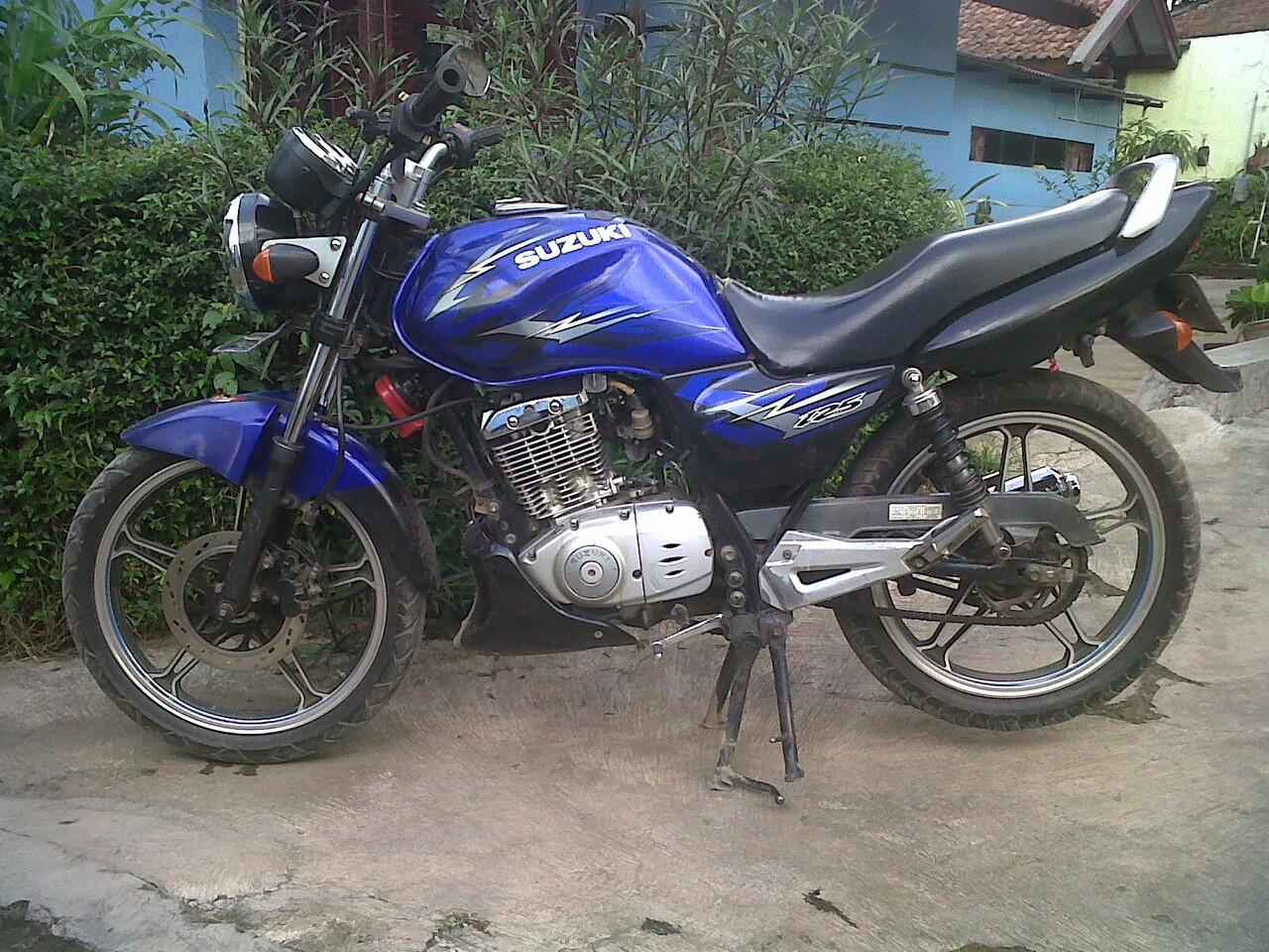 Suzuki Thunder 2008 Plat T Purwakata Posisi Bandung