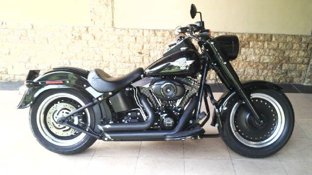 Harley Fat Boy 2012 Full Accesories