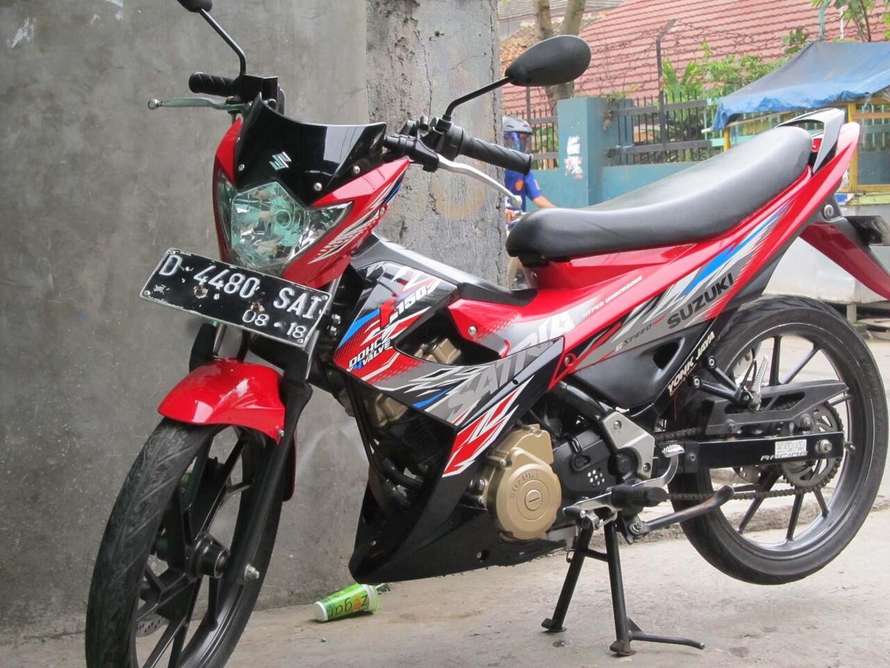 Satria Face lift FU 150 SCD2