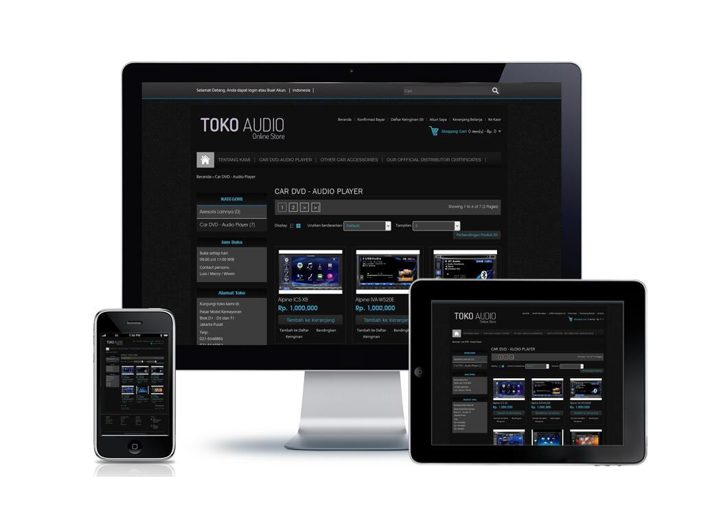 (Samudera Website) Jasa Pembuatan Website Profesional dengan harga terjangkau