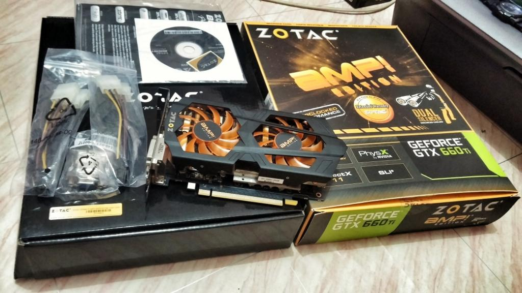 Zotac GTX 660TI AMP! murah gan