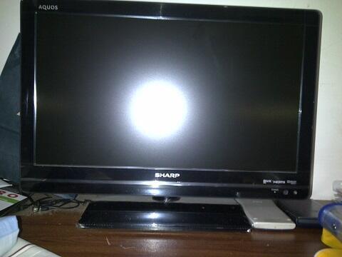 TV LED Sharp Aquos LC-22LE420ML / Full HD 1920x1080 / Usb movie / HDMI / BEKAS MURAH