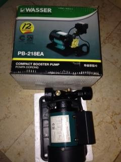 JUAL !! Compact Booster Pump (Pompa Dorong) Merk WASSER