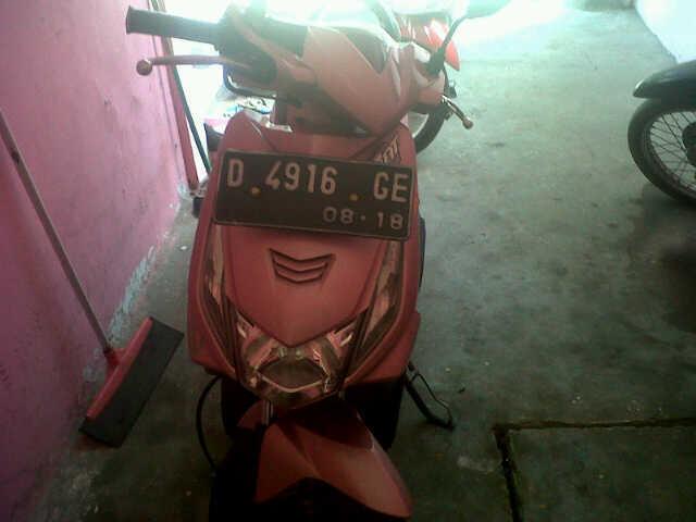 MOTOR BEAT TH.2008 (WARNA PINK)