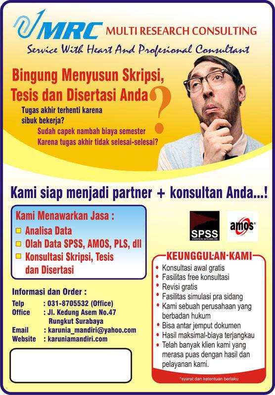 Jasa Bimbingan/Pembuatan Skripsi,Tesis,Disertasi,Jurnal,Proposal Bantu Sampai Wisuda!