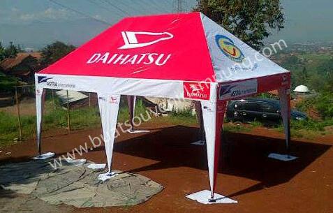 Jasa Pembuatan Tenda Untuk Promosi